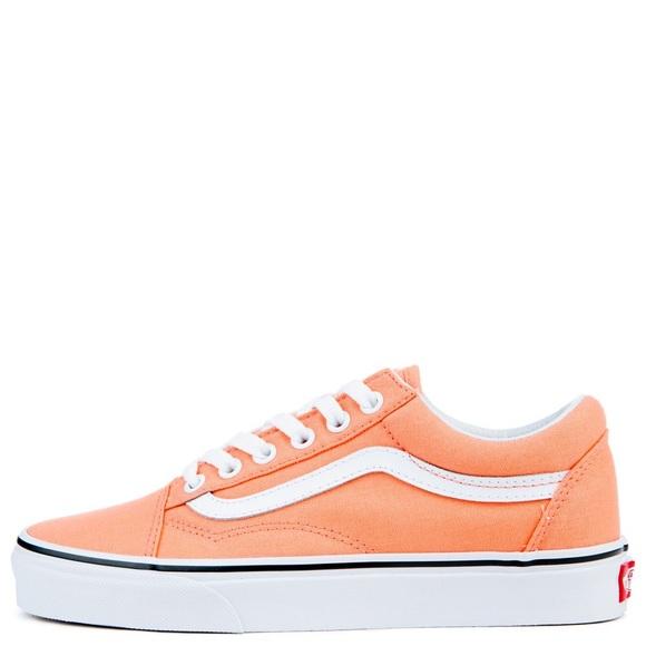 Original Vans In Light Peach Color